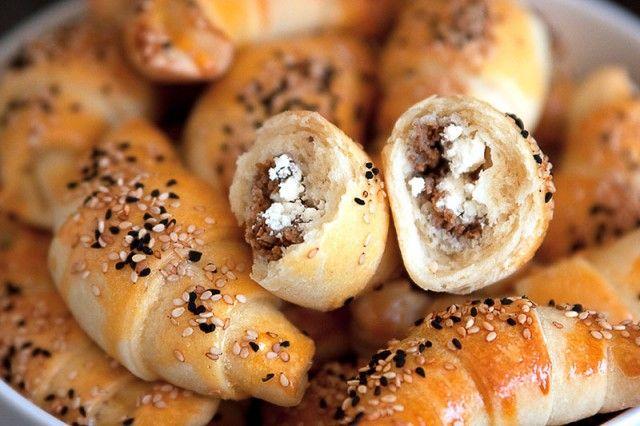 Eine türkische Spezialität: Poğaça