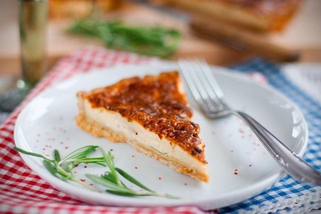Tarte aux fromages – Käsetarte